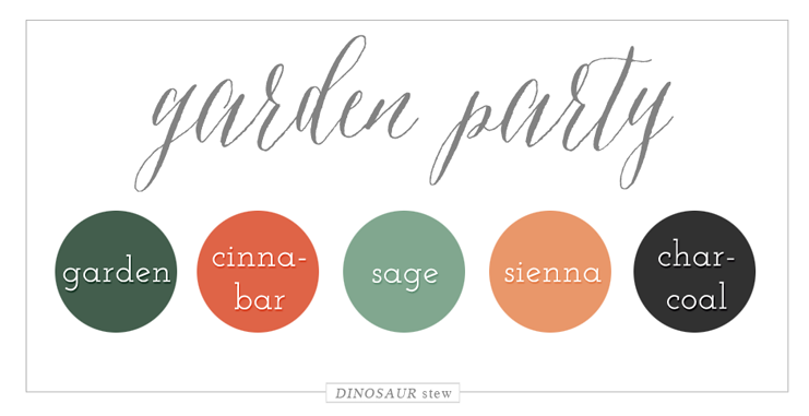 Garden Party Color Palette