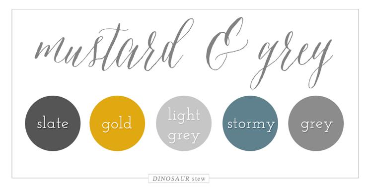 Color Palettes Dinosaur Stew