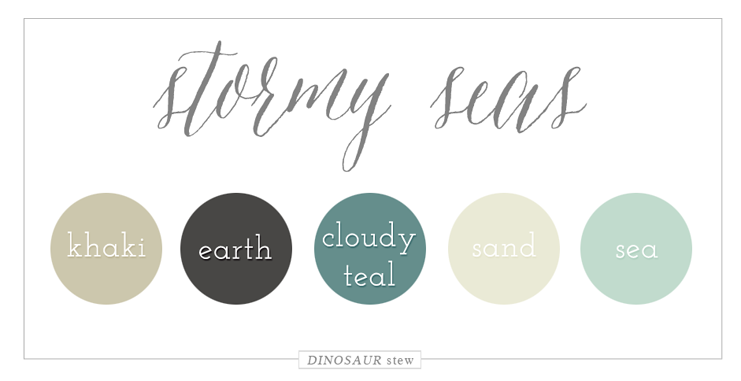 Stormy Seas Color Palette