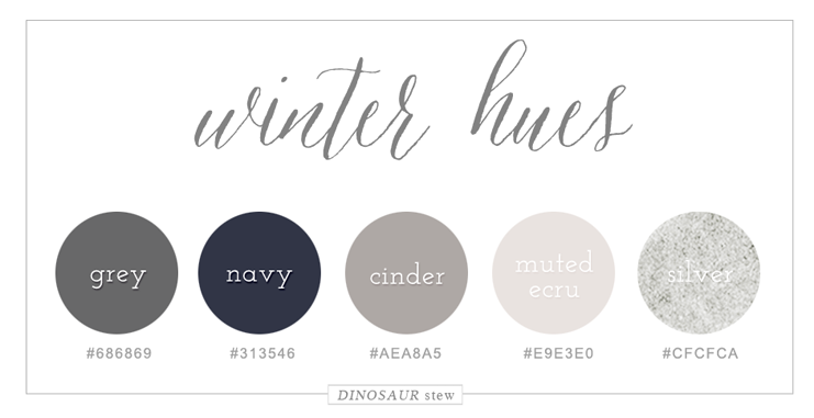 winter color palette