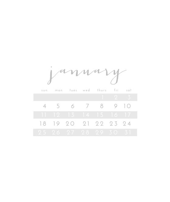 January 2015 Freebie