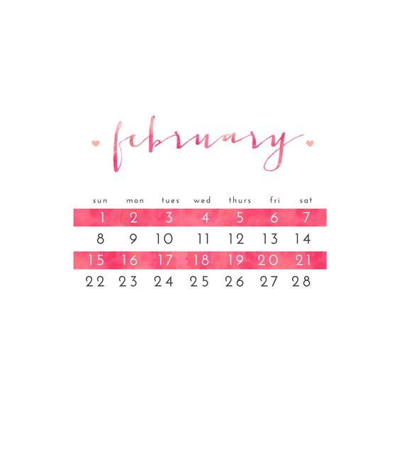 February 2015 Freebie
