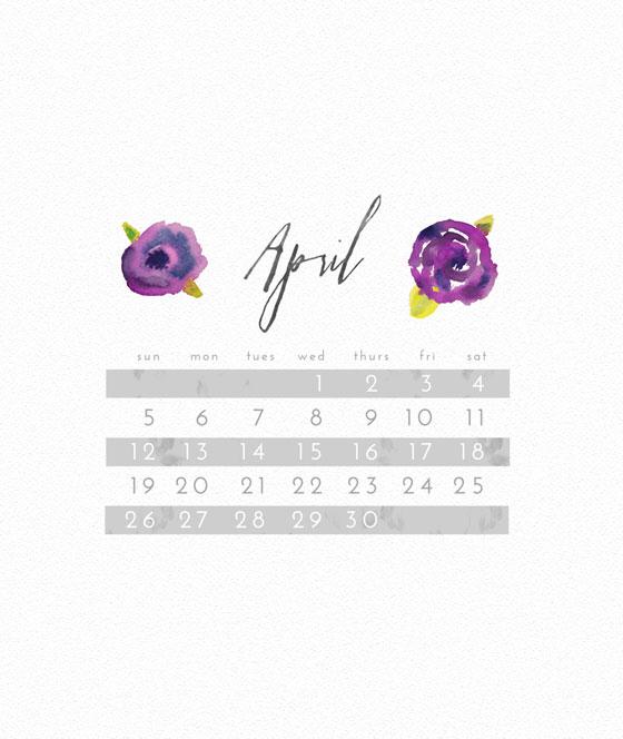 April 2015 Freebie