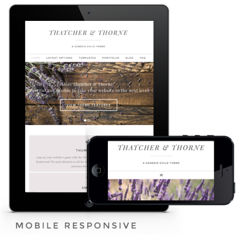thatcher and thorne is mobile responsive