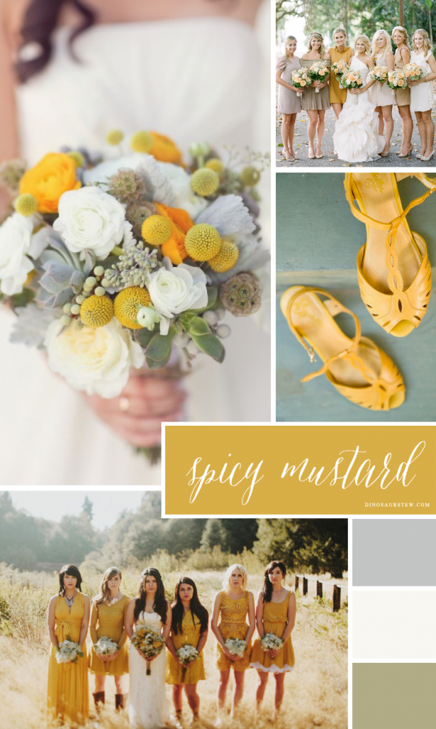 spicy mustard color inspiration