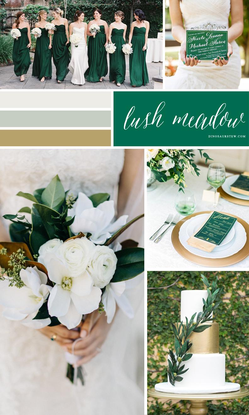 lush meadow color moodboard