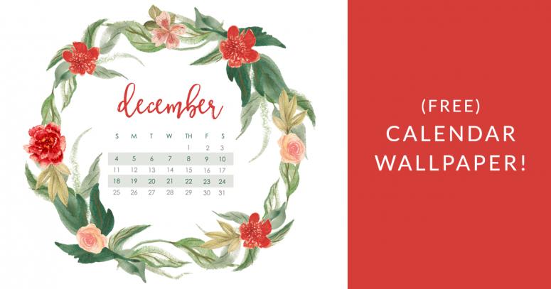 December 2016 Calendar Wallpaper