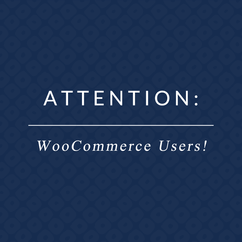 important notice about woocommerce 3.0
