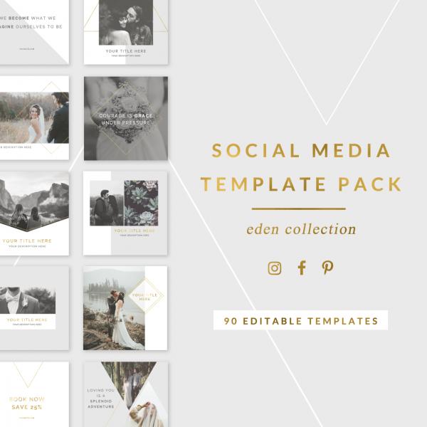 Eden Social Media Template Pack