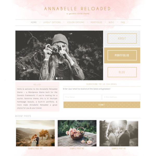 Annabelle Reloaded Wordpress Theme