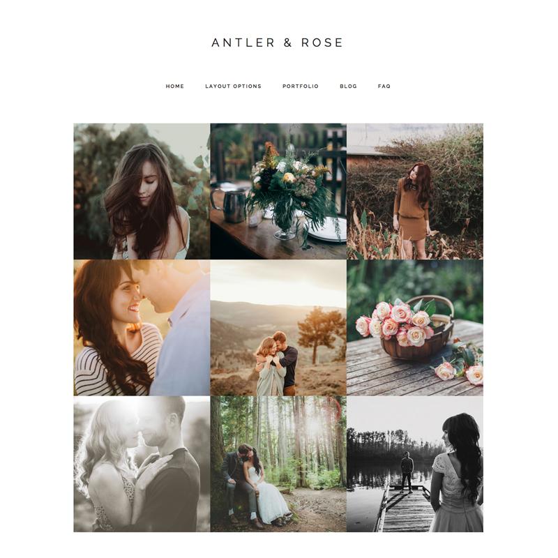 Antler & Rose Wordpress Theme