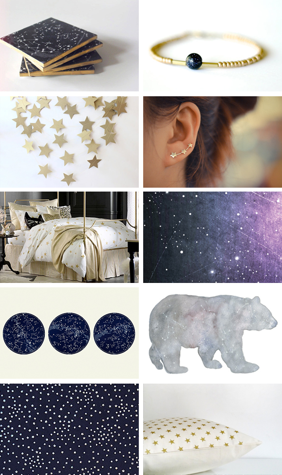 Starry Eyed:  10 Constellation Designs I'm Loving Right Now