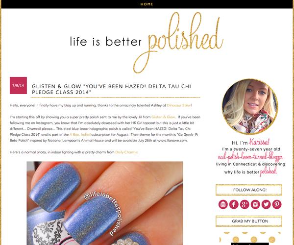 Life Is Better Polished Design Screenshot