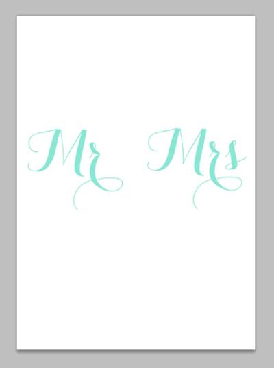 wedding invitation step three
