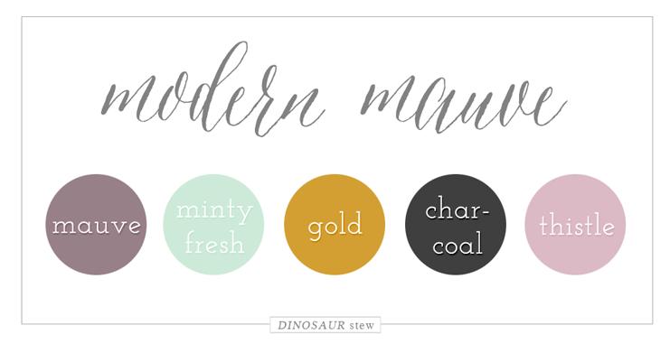 Modern Mauve Color Palette
