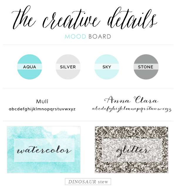 custom design spotlight:  the creative details