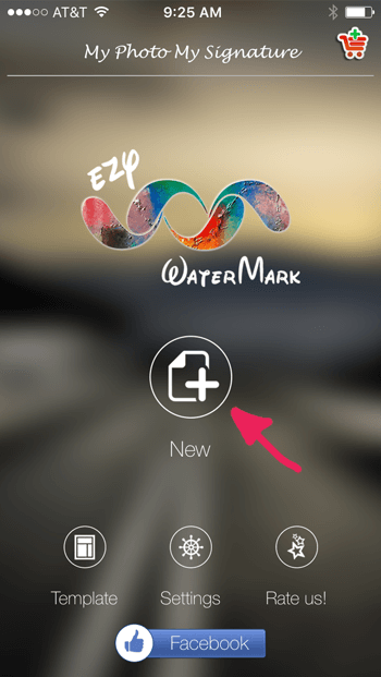 How to Add a watermark to your images Step Two