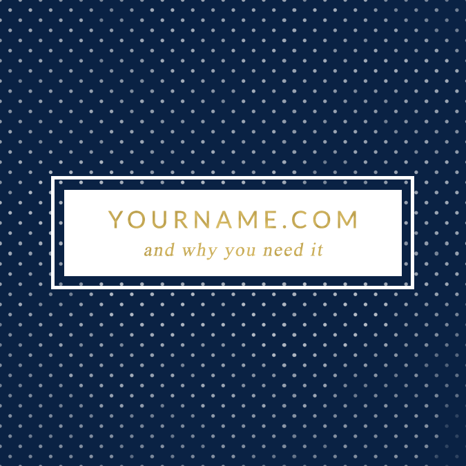 Why You Need To Purchase YourName.Com