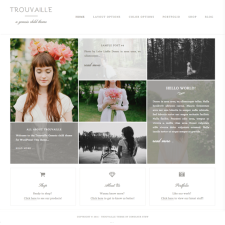 Trouvaille Theme Preview