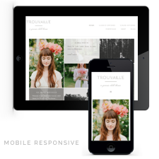 Trouvaille Mobile Responsive