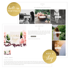 Trouvaille Theme Portfolio and Ecommerce Options