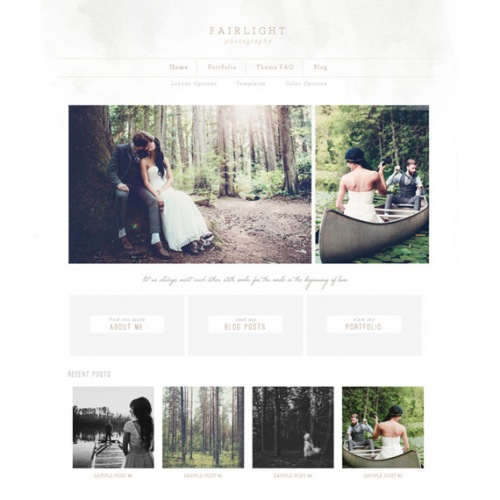Fairlight Wordpress Theme