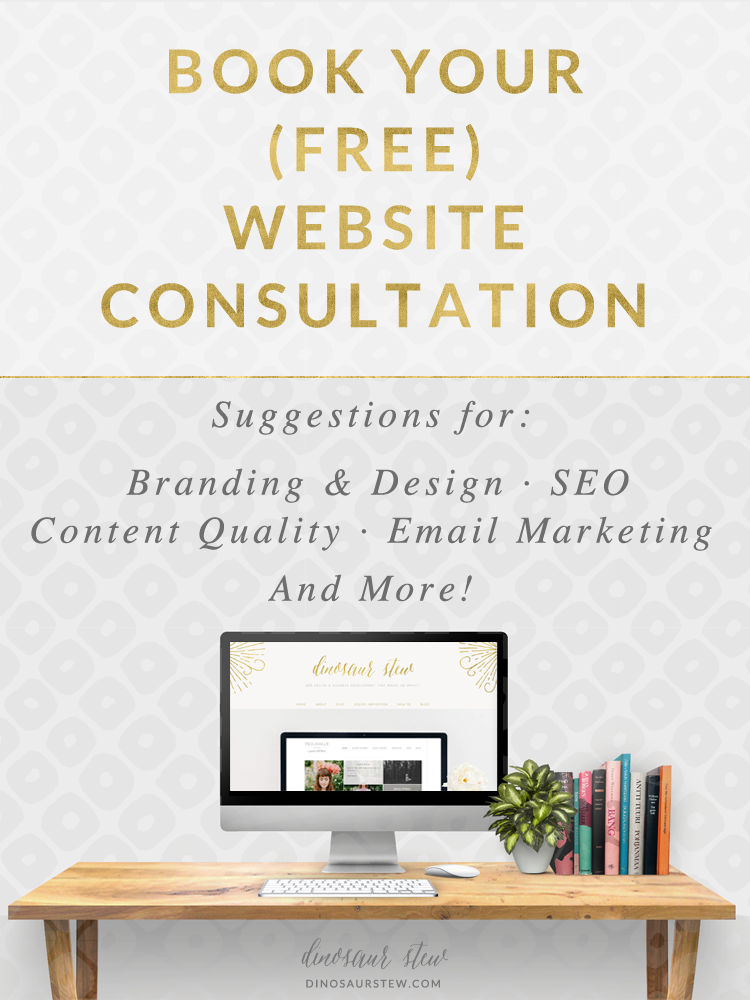 Book Your (Free) Website Consultation!