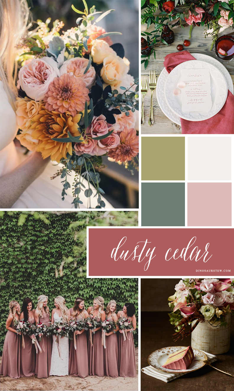 dusty cedar mood board