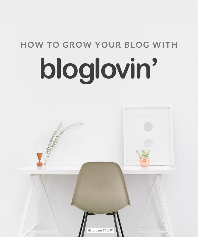 bloglovin' for bloggers