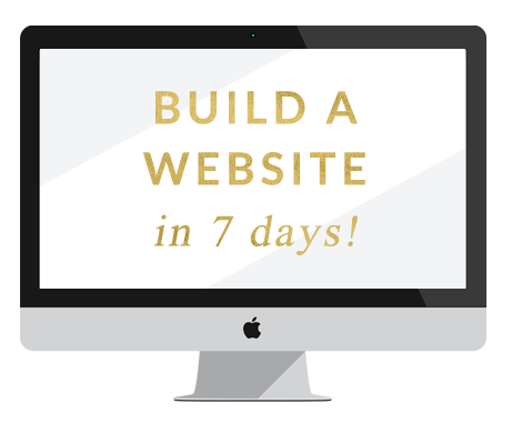 build a website in 7 days