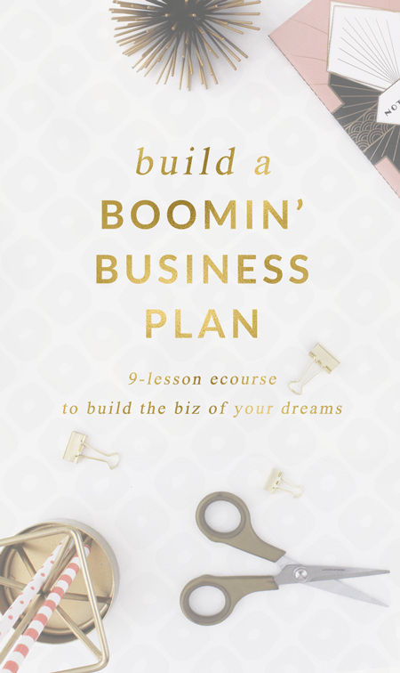 Build A Business Plan eCourse