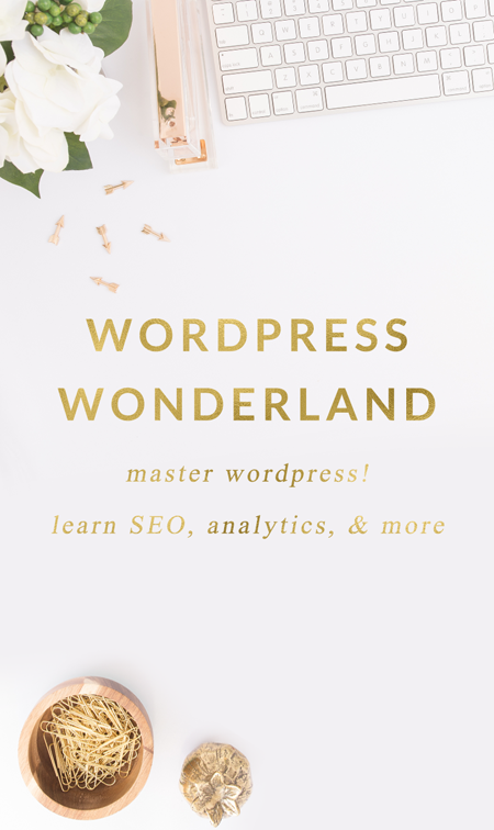 Wordpress Wonderland eCourse