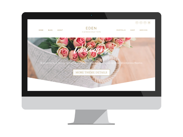 Eden Theme Mock Up