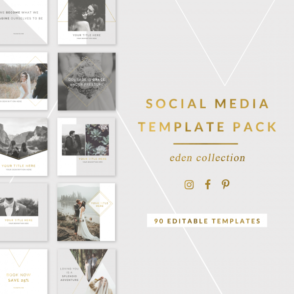 Eden Social Media Template Pack
